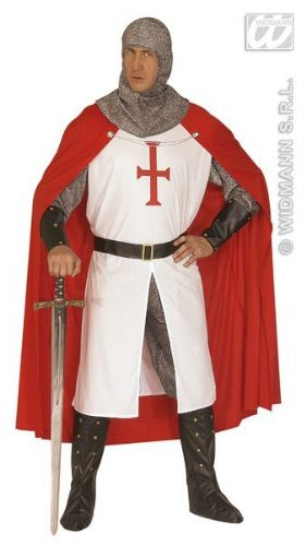 Crusader - Men's Fancy Dress (Widmann 44493)